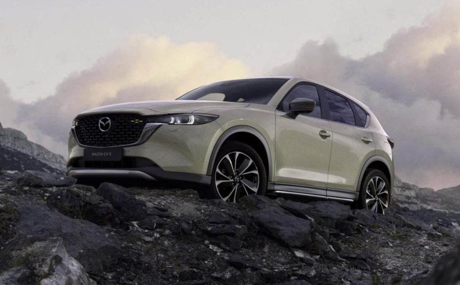 Facelift Mazda CX-5 2022