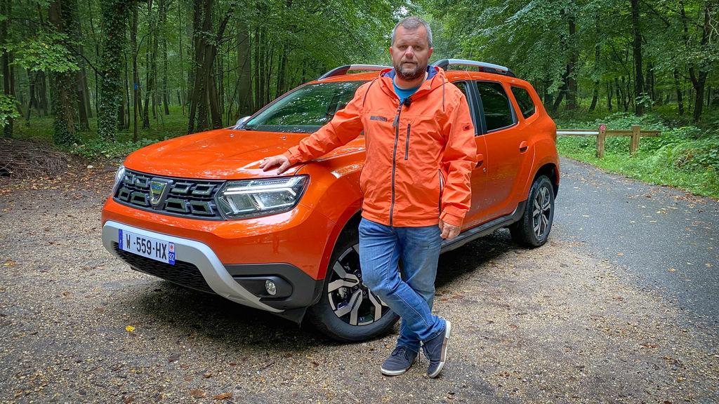 Dacia Duster 2021 facelift test