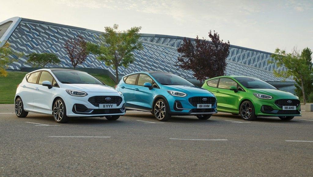 Ford Fiesta 2021 facelift