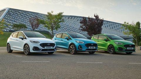 Modernizovaný Ford Fiesta 2021: Matrix LED svetlá, exkluzívne pakety Vignale a vylepšený ostrý model ST