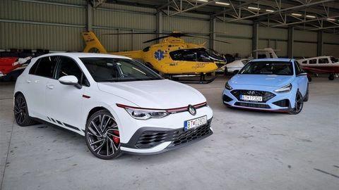 VW Golf GTI Clubsport vs. Hyundai i30 N Performance: Hot hatch špeciál! (VIDEO)