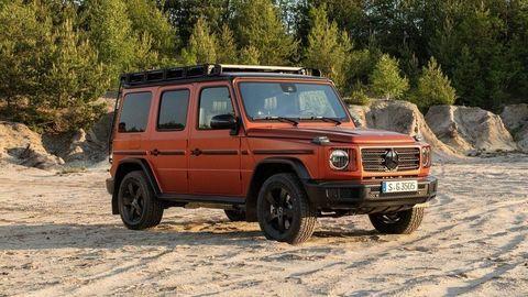 Mercedes-Benz Triedy G Professional Line: Ikonický offroad s ešte terénnejším charakterom