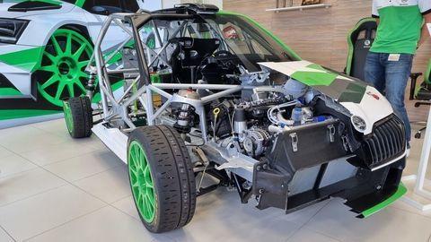 Ako vznikol motor pretekárskej Fabie Rally2 evo? Základ pochádza z Číny!