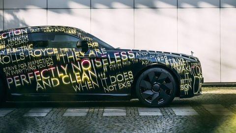 Rolls-Royce bude čisto elektrickou značkou. Toto je jej prvý elektromobil