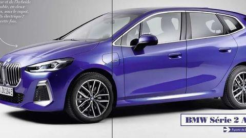 """Nové BMW radu 2 Active Tourer: Vzhľad kompaktného MPV """"unikol"""" pred premiérou"""