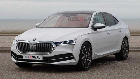 Takto má vyzerať nová Škoda Superb 4. generácie. Pôjde cestou evolúcie