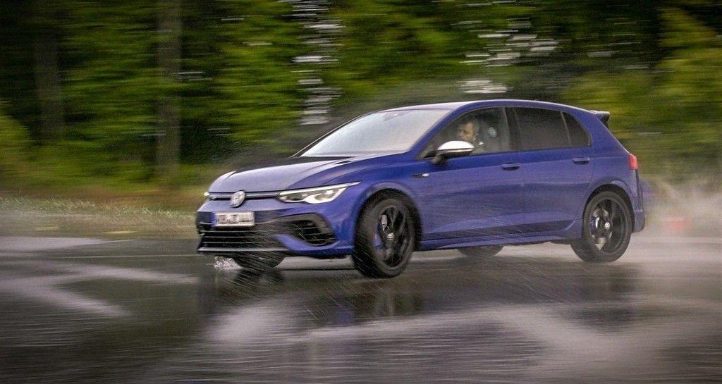 VW Golf R 2021 TEST