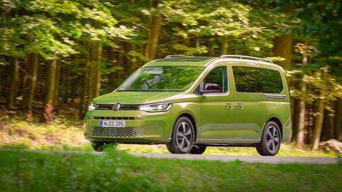 VW Caddy California XL 2.0 TDI 4Motion: Baby California pre 4 až 5-člennú rodinu (VIDEO)