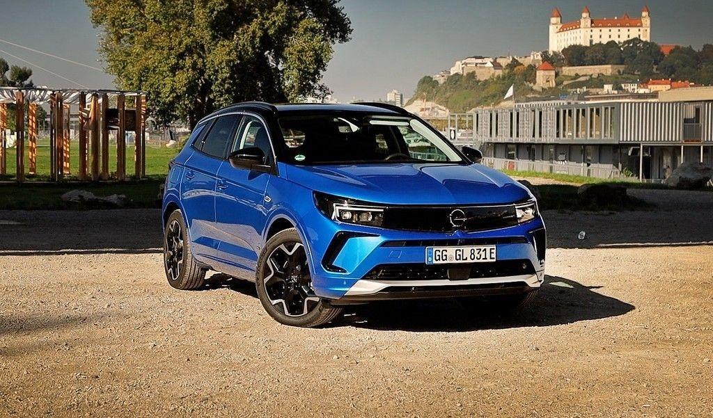 Opel Grandland 2021 facelift test