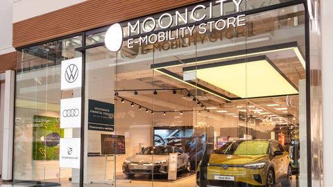 Mooncity e-mobility store v Auparku až do konca roka