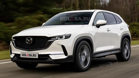 """Takto má vyzerať nová Mazda CX-50. """"Unikli"""" tiež patentové zábery"""