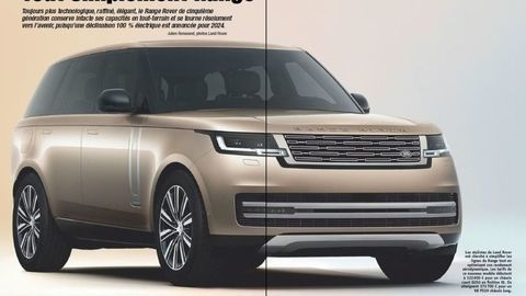 Nový Range Rover 2022: Vzhľad majestátneho SUV unikol týždeň pred premiérou
