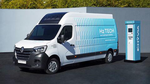 Vodíkový Renault Master