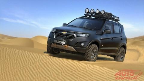Nový Chevrolet Niva: Hviezdu moskovského autosalónu navrhol Slovák