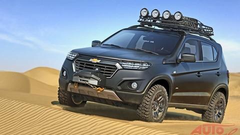 Chevrolet Niva bude naoko drsný offroad