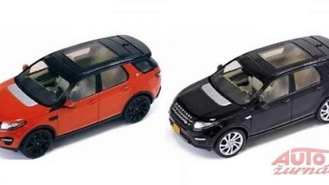 Nový Land Rover Discovery Sport prezradili hračkárske zmenšeniny modelu