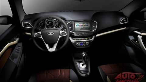Lada ukázala interiér nového modelu Vesta