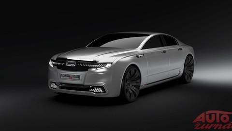 Qoros plánuje luxusnú limuzínu