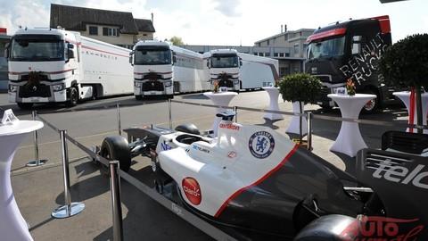 Logistické zázemie tímu Sauber F1