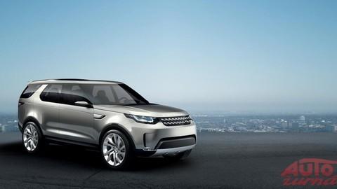 Land Rover Discovery jazdí podľa pokynov diaľkového ovládania