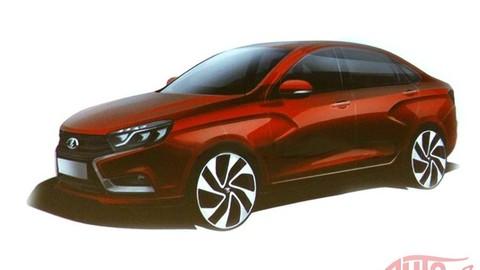 Lada chce vyrábať pekné autá. Začne sedanom Vesta