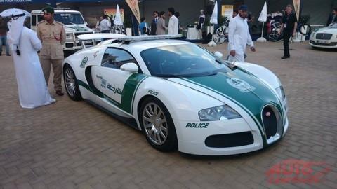 Polícia dostala Bugatti Veyron