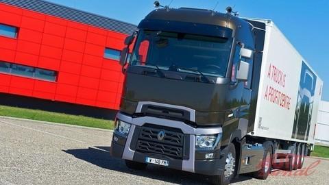 Kamión roka v Španielsku: Renault Trucks T
