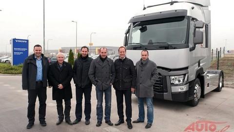 Prvý ťahač Renault Trucks Euro VI odovzdaný na Slovensku