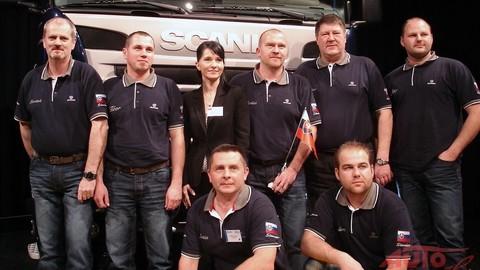 Svetové finále Scania Top Team