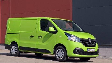 Renault Trafic Furgon Energy dCi 120: Vyspelé technológie, nápaditý štýl