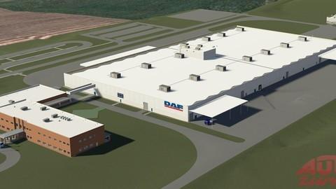 Továreň DAF Brasil v Ponta Grossa
