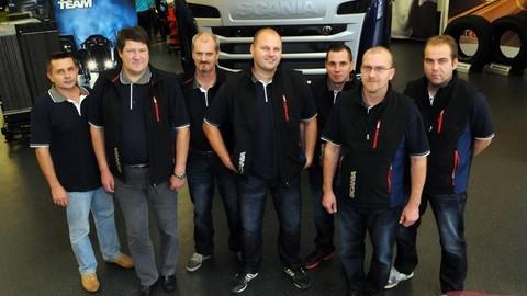 Semifinále Scania Top Team 2013