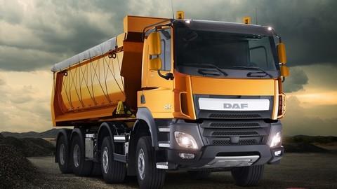 DAF predstavil stavebné trucky LF Construction a CF Construction