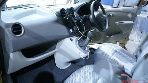Datsun GO: auto za 4.500 € naživo