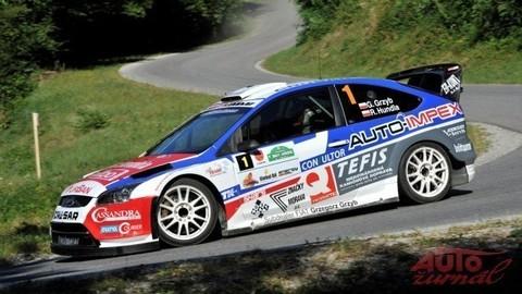 Rally Lubeník plná havárií objektívom Daniela Hlinku