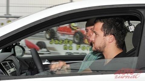 Test Golfa GTI vyvrcholil so Štefanom Rosinom