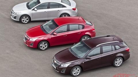 Chevrolet Cruze má nový benzínový a naftový základ