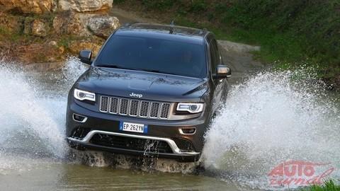 Jeep Grand Cherokee: Dobieha v čom zaostával (odomknuté)