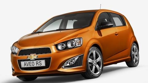 Chevrolet mlčky ukázal športové Aveo RS pre Európu