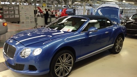 Bol som v prestížnej manufaktúre Bentley Motors