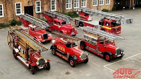 Storočná tradícia hasičských vozidiel Scania