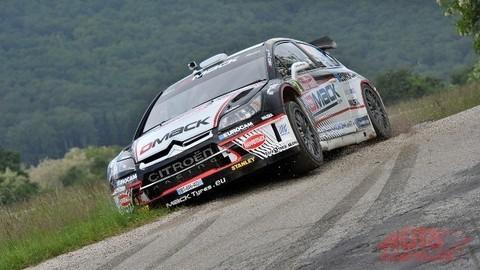 Ťažký záver Rally Tríbeč objektívom Daniela Hlinku