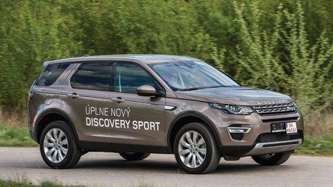 Land Rover Discovery Sport: Osvedčený názov, nové auto