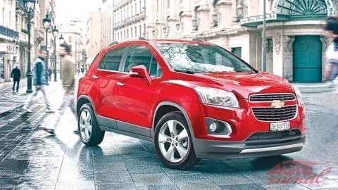 Chevrolet Trax: Agilný dvojník