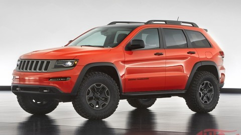 Obrazom: Jeep posiela do púšte šesť konceptov