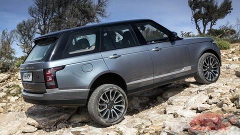 Range Rover nepozná prekážky (video, megagaléria)