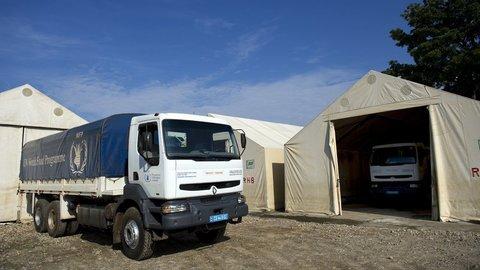Renault Trucks pokračuje v podpore Svetového potravinového programu