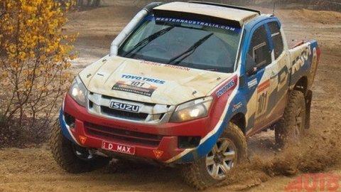 Isuzu na Dakar