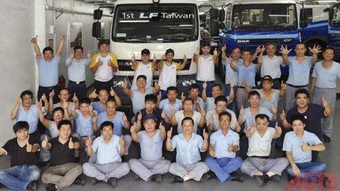 Prvý tchajwanský DAF LF