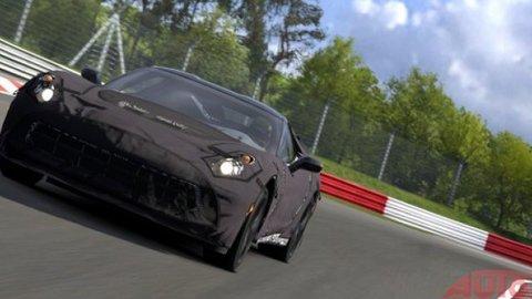 Nová Corvette jazdí zamaskovaná aj vo videohre